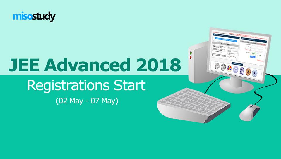 JEE Advanced 2018 Registrations