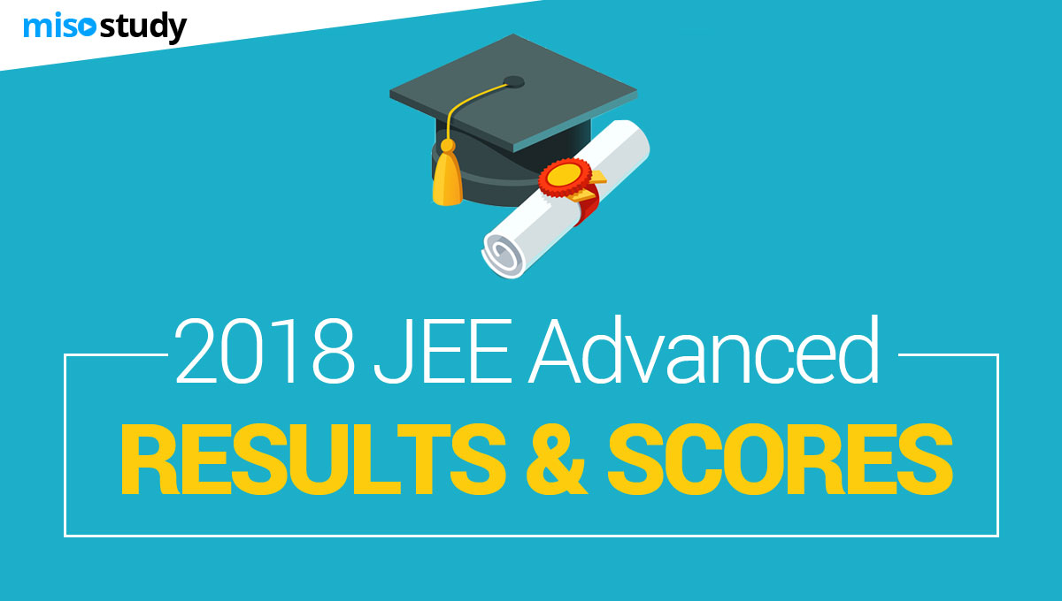 2018 jee advanced results scores