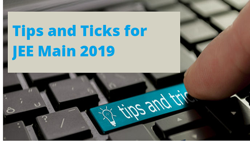 tips and trick jee main 2019